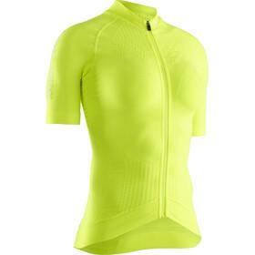 X-Bionic Effektor G2 Pyöräilypaita Vetoketjullinen Lyhythihainen Naiset, phyton yellow/arctic white